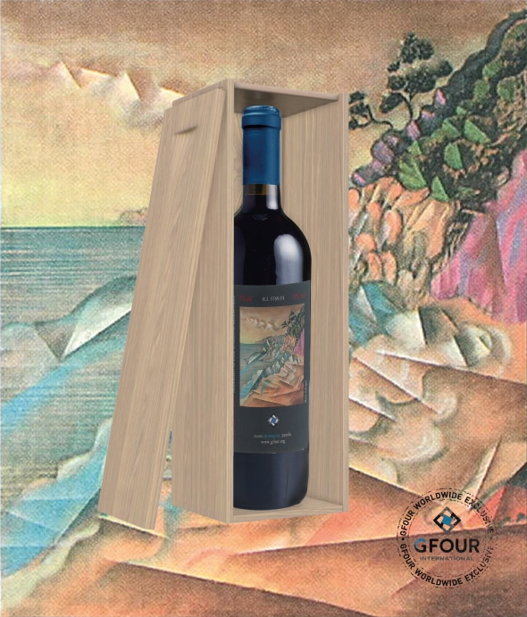 Rosso del Barone Bottle and Painting