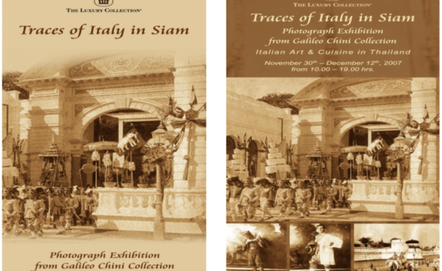 Traces of Italy in Siam