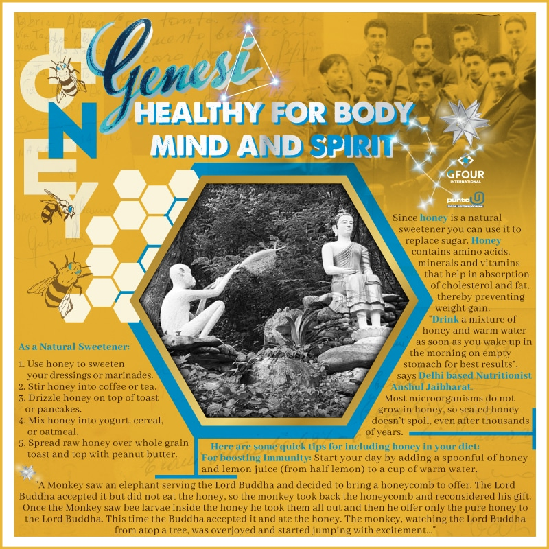 Health Benefits of Genesi Natural Honey