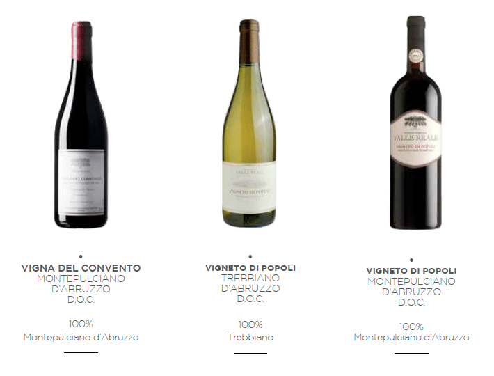 Valle Reale Wines 1